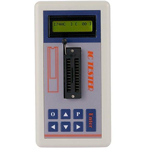 Tutoy Multifunktionale Transistor Tester Integrierte Schaltung Ic Tester Meter Wartung Tester Mos Pnp Npn Detektor 3.3V / 5.0V / Auto Suchmodus