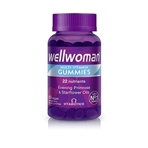 Vitabiotics Wellwoman Multi-Vitamin Gummies 60 Vegan Berry Gummies