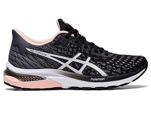 ASICS Women's Gel-Cumulus 22 MK Running Shoes, 8M, Black/White