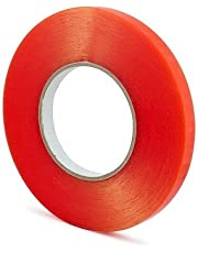 ELATAPES EXPAND STICKING POSSIBILITIES Polyester Acrylic Adhesive Clear Heat Resistant Double Sided Tape (Transparent, 6 mm x 25 m)