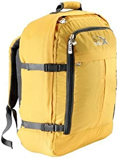 "Cabin Max Metz Backpack Flight Approved Carry on Bag - 22x16x8"" (Yellow)"