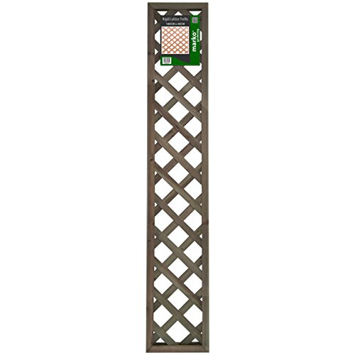 KD & JAY Marko Gardening Rigid Wooden Lattice Pattern Garden Trellis Decorative High Panels (30cm x 180cm)