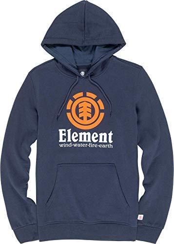 Element Vertical Ho, Felpa con Cappuccio Uomo, Blu (Eclipse Navy), L