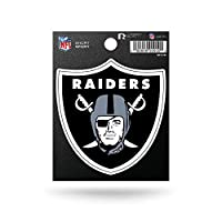 NFL Rico Industries Die Cut Team Logo Short Sport Sticker, Oakland Raiders