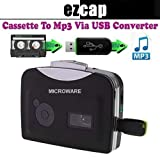 Microware Cassette Tape to MP3 Converter Player Convert into USB Flash Drive/Flash Memory/Pen