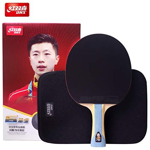 DHS 6-Stern-Tischtennisschläger #T6002, die neue Version des R6002 im Jahr 2019, mit Tasche für Tischtennisschläger