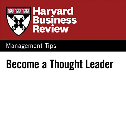 Become a Thought Leader audiobook cover art