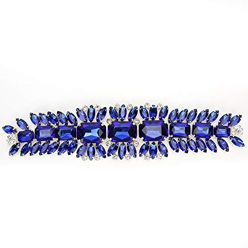 Flor de diamantes de imitación de cristal durable resistente elegante único diamante...