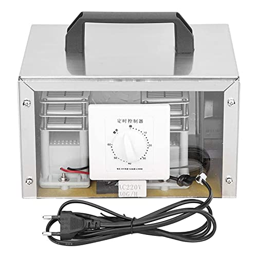Duuozy Ozonizer Generator, Home Office Purifier Air Purifier Ozone Machine (220V EU),24 g/h