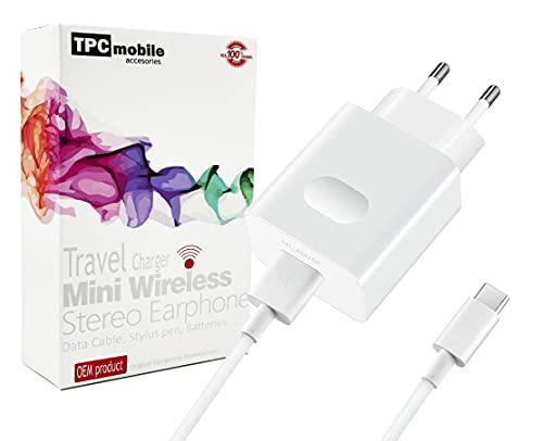 Cargador de Red Super Charge 40W + Cable USB Tipo C para...