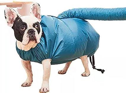 Aidou Bolsa de secado de mascotas Perros Secador de pelo Protable Rápido Fácil Soplador Herramienta Profesional Mascotas Bata Toalla Para Mascotas Grooming Perros