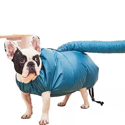 Jaula de secado portátil para mascotas para gatos y mascotas, bolsa de secado para mascotas y perros Secador de soplado para perros y gatos