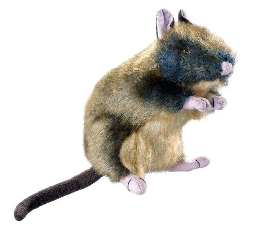 HUNTER WILDLIFE RAT Hundespielzeug, naturgetreu, Plüschspielzeug, Ratte, M