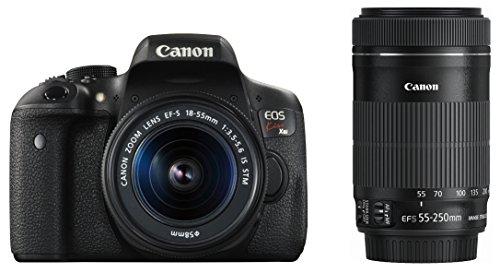 Canon デジタル一眼レフカメラ EOS Kiss X8i ダブルズームキット EF-S18-55mm/EF-S55-250mm 付属 EOSKISSX8...