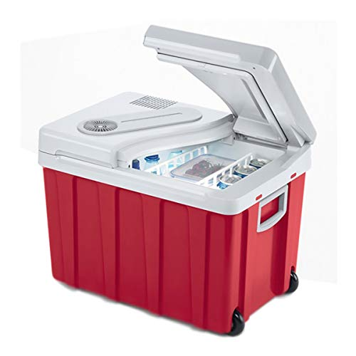 XER Draagbare mini-koelkast, grote capaciteit, 40 liter, auto-accessoires, coole auto-picknick, camping