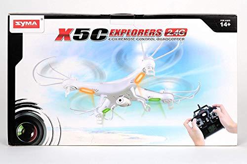 i-mex DROHNE Quadcopter 3D RC GYRO 4CH X5C Explorers 4 Kanal 2.4G MIT TON HD Kamera 2GB Mini SD + ERSATZROTOREN