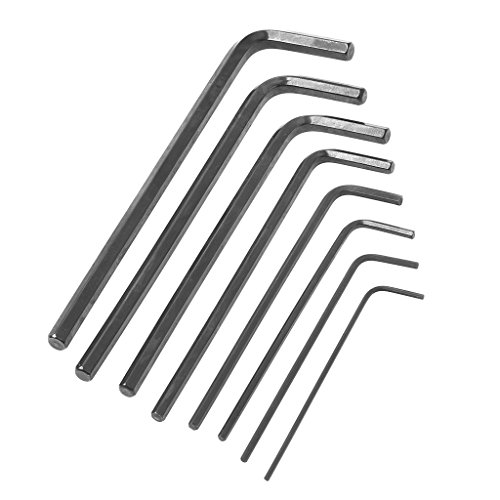 Meipai 8Pcs/Set 1.5mm-6mm Hexagon Hex Allen Key Wrench Kit Spanner Repair Hand Tools