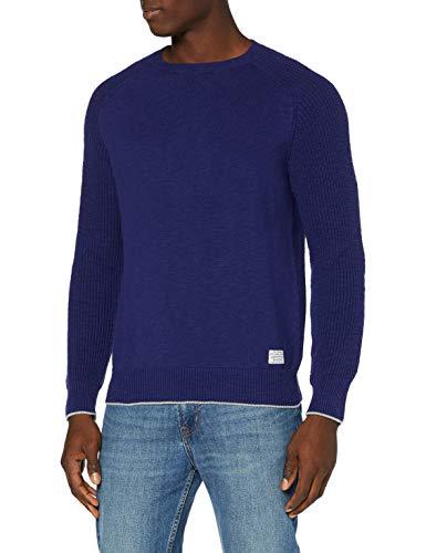 Pepe Jeans Denis Suéter, Azul (Eton Blue 573), Small para Hombre