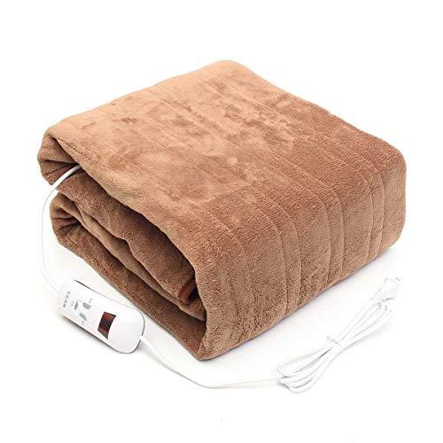 XIYUN Electric Blanket with Thermostat Blanket Heated Mattress 220v Warm Heating Mat Throw Over Under Bed Mattress Warmer Carpets Mat