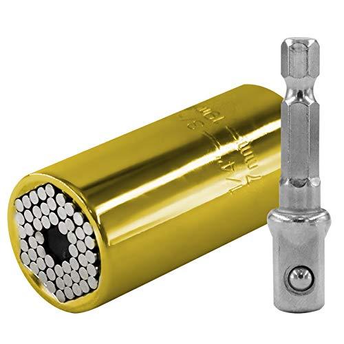 HLSP 7-19mm Llave de torsión universal de la llave de la llave de la llave de la llave de la llave de la llave de la manga eléctrica de la llave del trinquete de la llave de la llave de la llave de la
