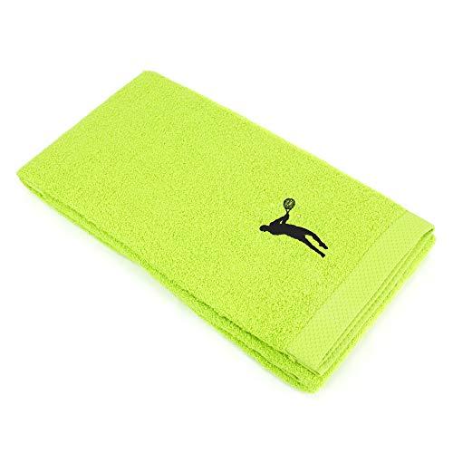 Duschtuch, 70x 140cm 100% Baumwolle 550g/m2Pure Tennis grün Pistazie