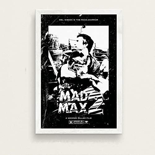 Lienzo de fotos 40x60cm Sin marco Película clásica Mad Max Art Poster Imagen de decoración del hogar