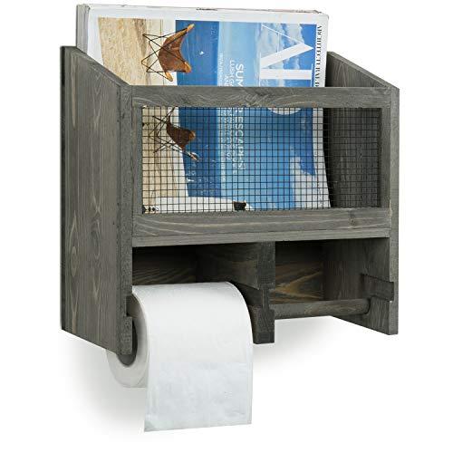 Top 10 best selling list for rustic toilet paper holder magazine basket