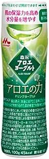 【冷蔵】森永 アロエヨーグルト アロエの力 100mlX12本