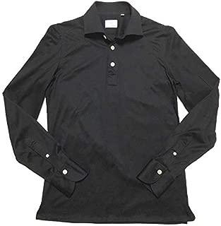 Finamore フィナモレ ETTORE ORLANDO エットレ オルランド ジャージー プルオーバーシャツ ブラック