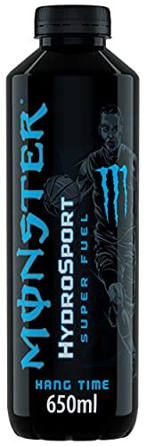Monster Hydro Sport Hangtime - Bebida isotónica de alto rendimiento sin azúcar y sin burbujas - Lata de 650 ml
