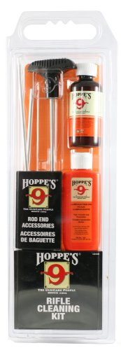 Hoppe's No. 9 Cleaning Kit with Aluminum Rod, 6mm/6.5mm Rifle