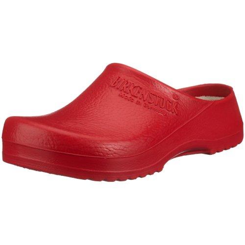 Birki's Unisex-Erwachsene Super Birki Clogs, Rot, 39 EU