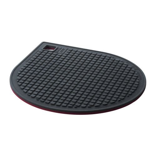 IKEA 365+ GUNSTIG - Topfuntersetzer magn., rot, dunkelgrau