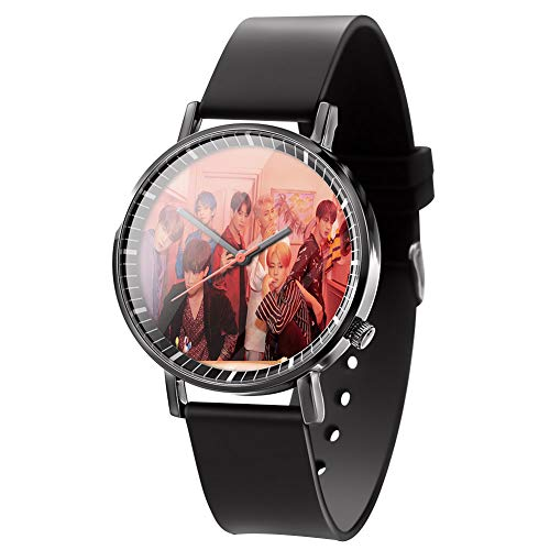 Hosston Kpop BTS Watch, Bangtan Boys New Album《MAP of The Soul : Persona》Women Men Casual Watches Creative Fashion Wristwatch Best Gift for BTS A.R.M.Y(Style 02)