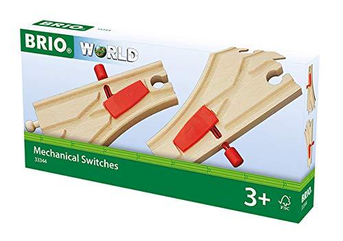 BRIO World Railway Track - Mechanical Switches