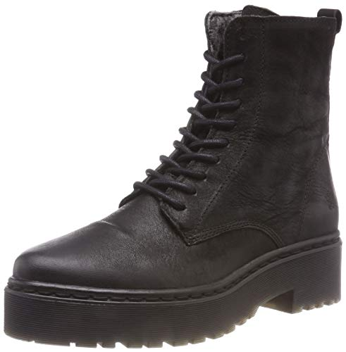 Apple of Eden Bali, Rangers Boots Femme, Noir (Black 1), 40 EU