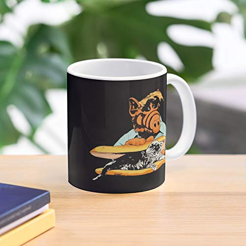 Tv Sandwich Show Mug Extraterrestrial The Kitty Alf Best 11 oz Kaffeebecher - Nespresso Tassen Kaffee Motive