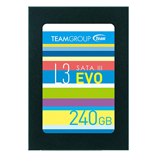 TeamGroup T253LE240GTC101 Interne Solid State Drive schwarz