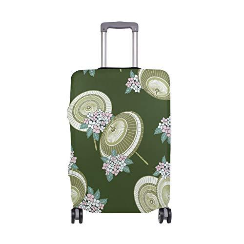 Funda para Maleta de Viaje con diseño de Flores y Paraguas Redondo,...