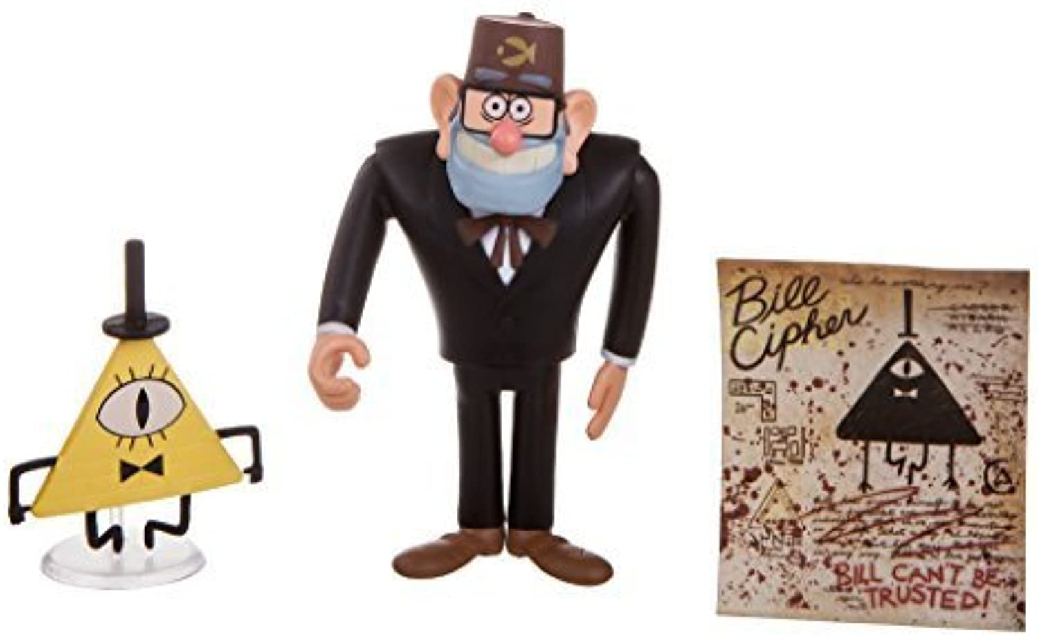 Gravity Falls Grunkle Stan with Bill Cipher by Gravity falls