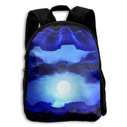 ADGBag Children's Blue Pearls Backpack Schoolbag Shoulders Bag For Kids Zaino per bambini