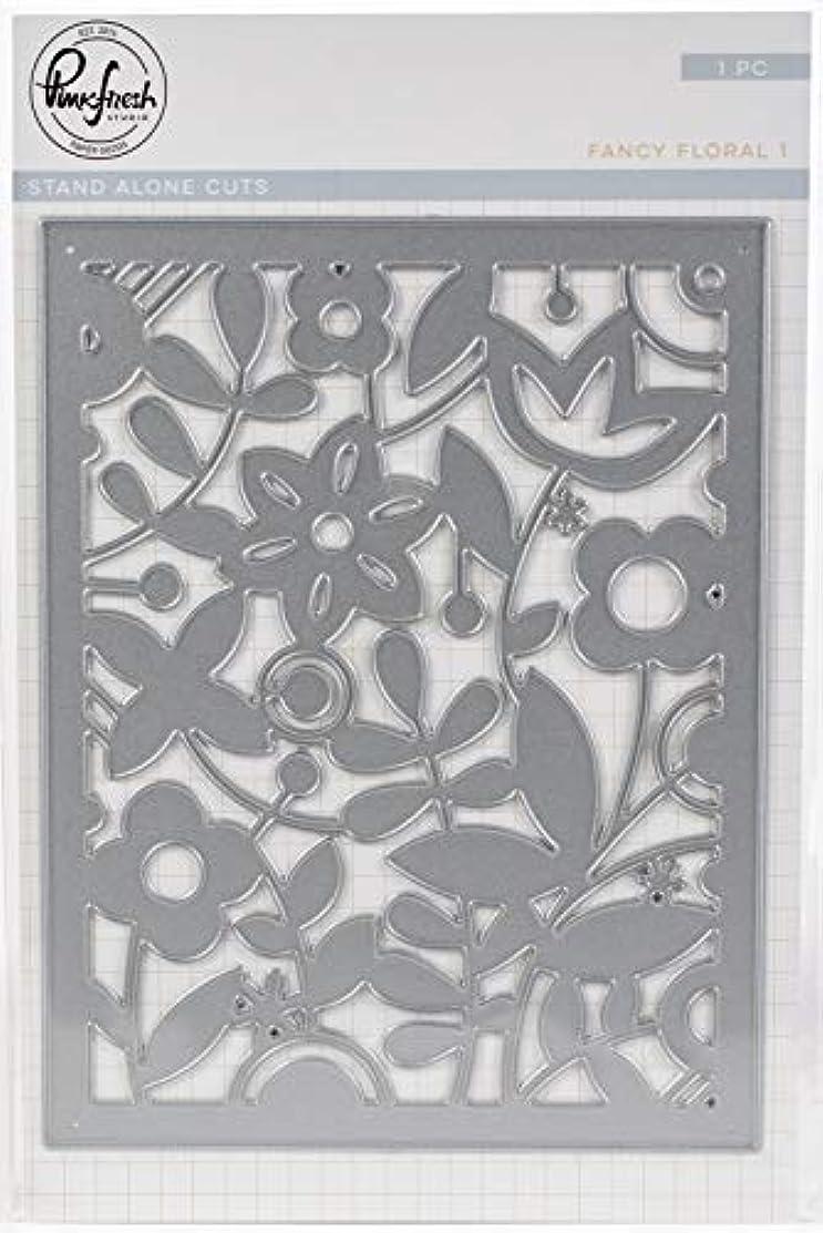 Pinkfresh Studio PFSA0818 Die-Fancy Floral 1