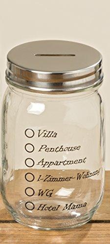Unbekannt Spardose Sparbüchse Vorratsglas (Villa Hotel Mama)