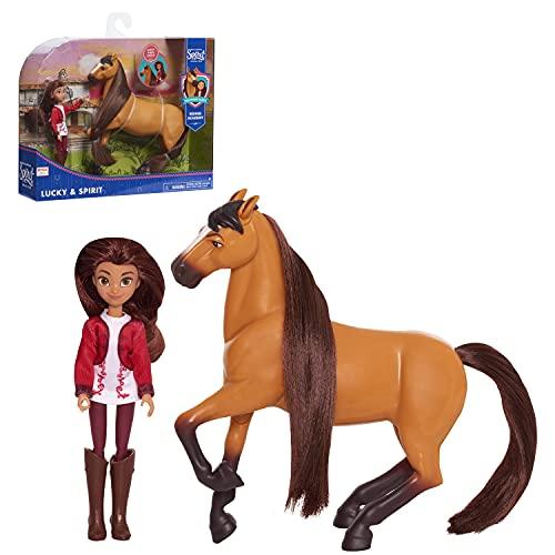 JP Spirit 39835 Small Doll & Horse -...