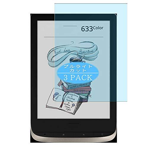 Vaxson 3 Stück Anti Blaulicht Schutzfolie, kompatibel mit PocketBook 633 Color,...