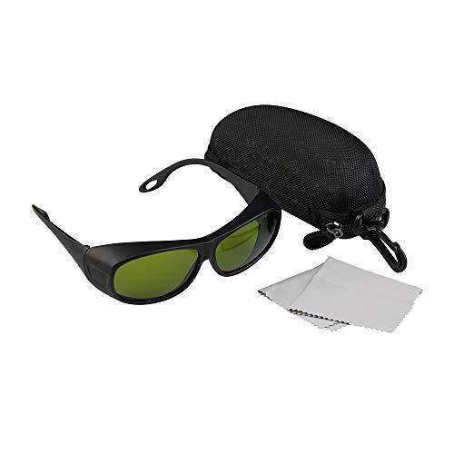 Cloudray Gafas de seguridad láser 1064nm 850-1300nm OD4 + CE Gafas protectoras para láser de fibra (Estilo C)