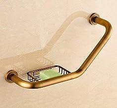 Shower Organizer Bathroom Supplies Toilet-Bathroom Brass Antique/Black Bathtub Grab Bars Shower Safety Handle Grip Rail Su...