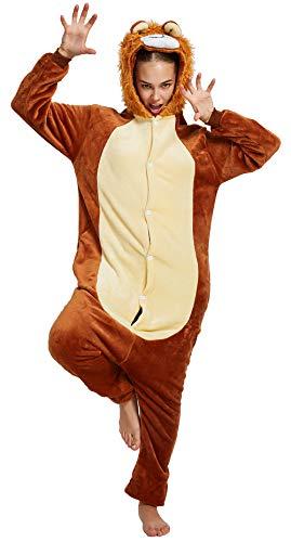 Pijama de unicornio para adultos, para mujeres, hombres, disfraz de Halloween