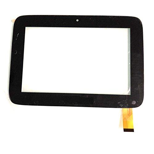 EUTOPING Nero Colore Nuovo di Zecca 8 Centimetro Touch Screen del digitizer La Sostituzione per 8' clementoni Il Mio Primo clempad 3G V43570