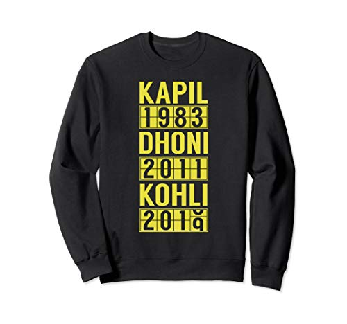 2019 Team India Cricket Fan Jersey Sweatshirt